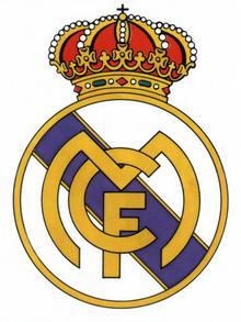 Logo des spanischen Fußballklubs Real Madrid