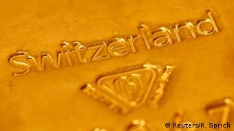 Symbolbild Referendum Goldreserven Schweiz am 30.11.2014
