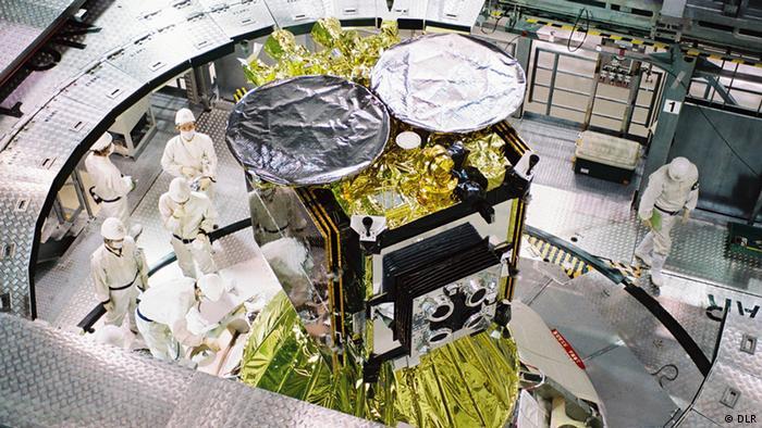 Asteroiden-Lander Mascot DLR