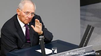 Ο Γερμανός υπουργός Οικονομικών Β.Σόιμπλε