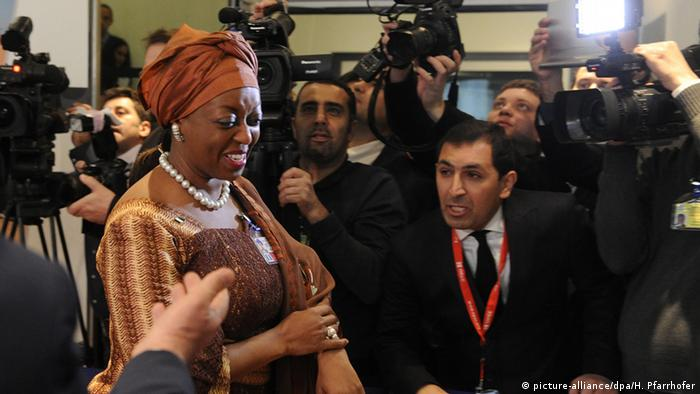 Nigeria's former Oil Minister Diezani Alison-Madueka