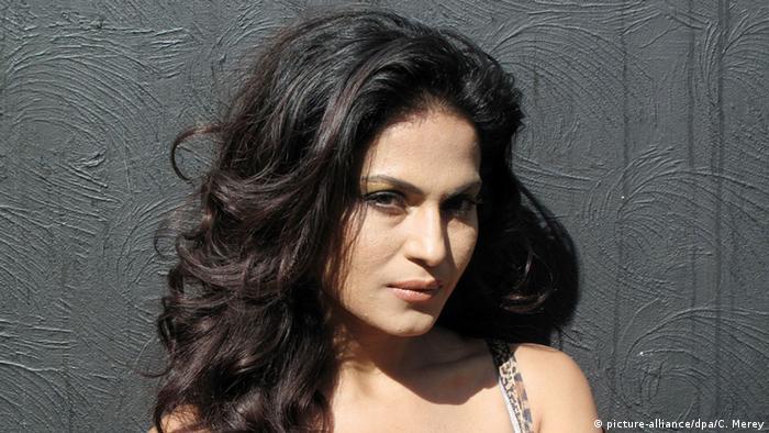 Pakistanische Schauspielerin Veena Malik