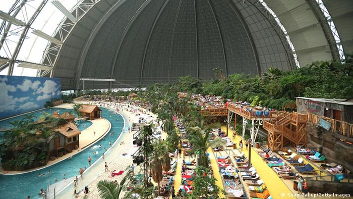 Freizeitbad Tropical Islands in Krausnick