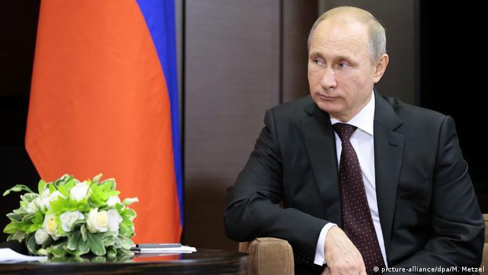 Russian President Putin in Sotschi