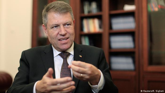 Preşedintele României, Klaus Iohannis, la 25 noiembrie trecut