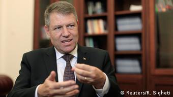 Klaus Iohannis Präsident Rumäniens 25.11.2014 Bukarest