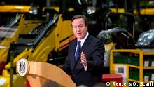 David Cameron Rede in Rocester 28.11.2014