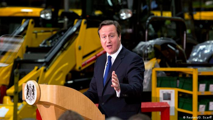 David Cameron giving his immigration speech Photo: REUTERS/Oli Scarff/Pool