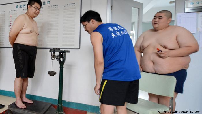 China Fettleibigkeit Archiv 2012
