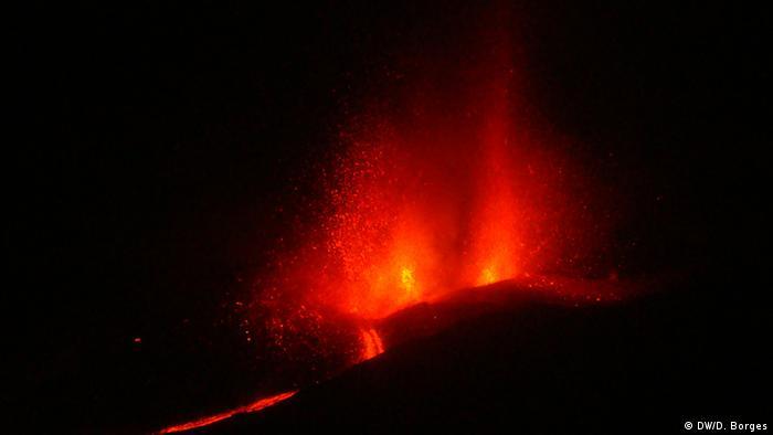 Vulkansaubruch Fogo KapVerden 1
