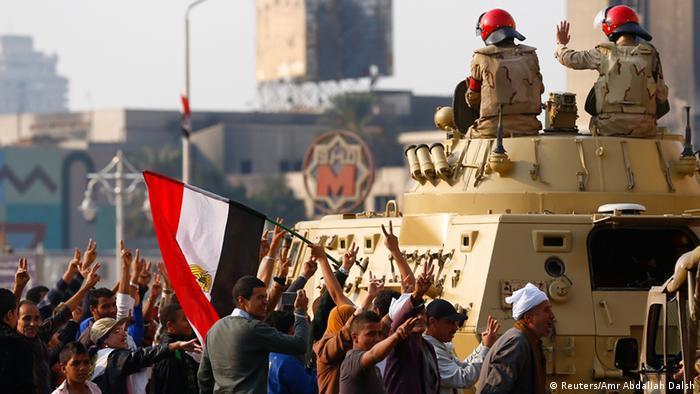 Ausschreitungen in Kairo 28.11.2014 (Reuters/Amr Abdallah Dalsh)