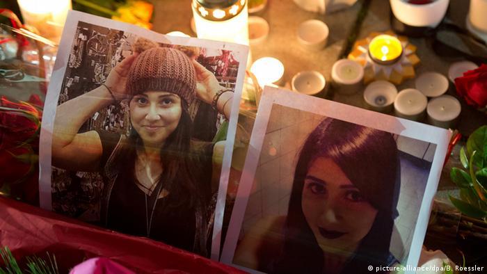 Bilder von Tugce mit Kerzen (Foto: DPA)