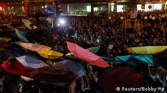 Hongkong Protest und Zusammenstöße 28.11.2014