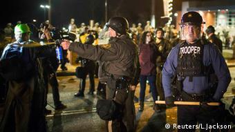Protest & Ausschreitungen in Ferguson 29.11.2014