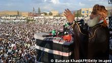 Pakistan Maulana Fazlur Rehman Jamiat Ulema-e-Islam Fazl 23. Oktober 2014
