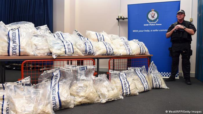 Milliardenschwerer Drogenfund in Australien (West//AFP/Getty Images)