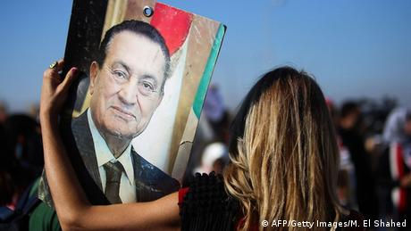Ägypten Mubarak Anklage fallengelassen jubelnde Anhänger