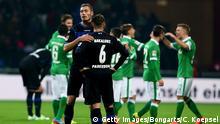 Fußball Bundesliga 13. Spieltag Werder Bremen gegen den SC Paderborn
