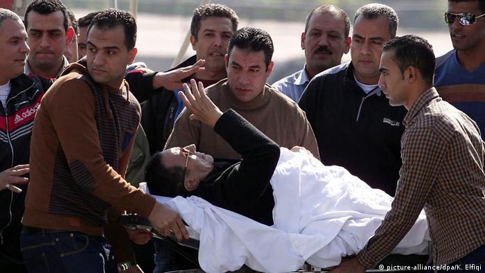 Ägypten Mubarak Anklage fallengelassen 29.11.2014