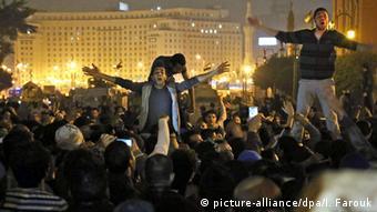 Протесты в Египте против экс-президента Хосни Мубарака (архив)