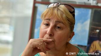 Seyran Zinetdinov's mother Elvira. (Photo: DW/ Yulia Vishnevetskaya)