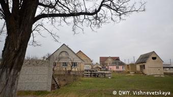 Häuser des krimtatarischen Dorfes Die Bewohner des Dorfes Sary-Su (Foto: DW)