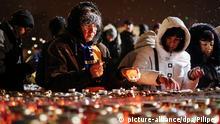 Gedenknacht auf dem Maidan