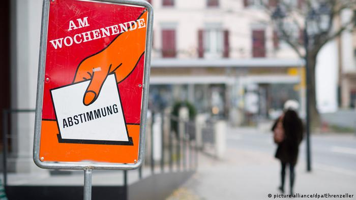 Referendum zur Zuwanderung in der Schweiz (picture-alliance/dpa/Ehrenzeller)