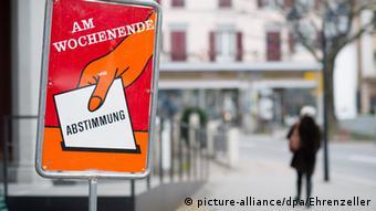 Στις κάλπες καλούνται κάθε τόσο οι Ελβετοί πολίτες
