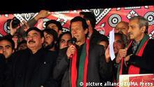Pakistan Islamabad Versammlung Imran Khan