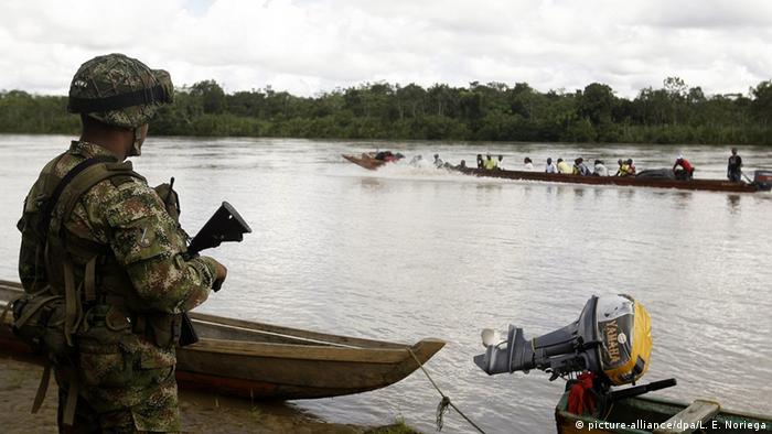 Kolumbien Choco Region Entführung Ruben Dario Alzate (picture-alliance/dpa/L. E. Noriega)