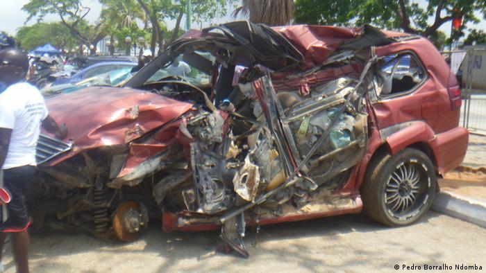 Verkehrsunfälle Angola