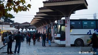 Автовокзал в Приштине