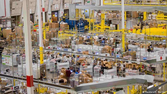 Weihnachtsgeschäft Amazon USA (Reuters/N. Berger)