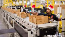 Weihnachtsgeschäft Amazon USA