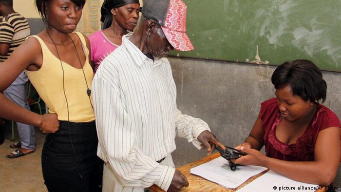 Namibia Wahlen Rundu Afrika