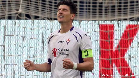 Italien Serie A Mario Gomez Fiorentina