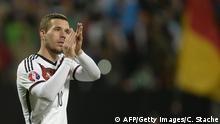 Lukas Podolski 14.11.2014 Nürnberg