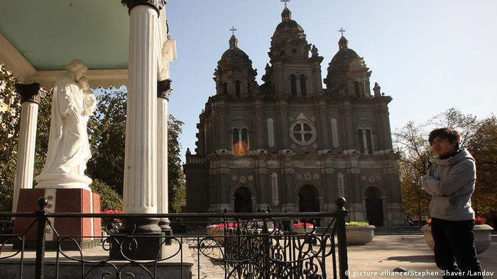 Katholische Kirche in China Kathedrale