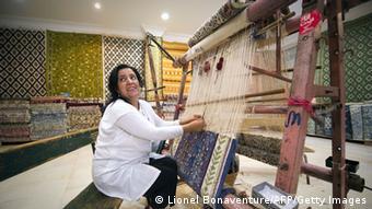 Bildergalerie Teppiche aus Tunesien Tunis (Lionel Bonaventure/AFP/Getty Images)