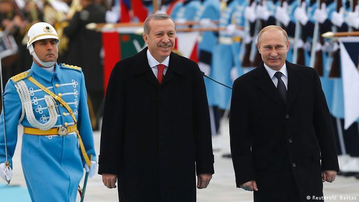 Russlands Präsident Putin in der Türkei 1. Dezember 2014