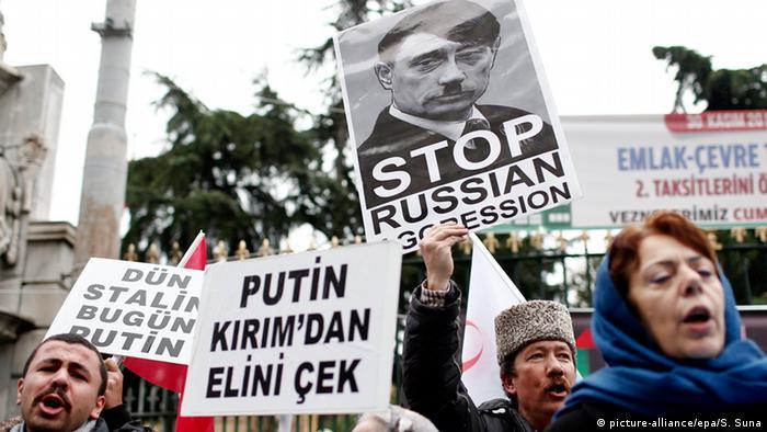 У столиці Туреччини президента Росії зустріли протестами
