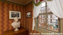 Deutschland Literatur Schillers Wohnhaus vor Wiedereröffnung in Weimar