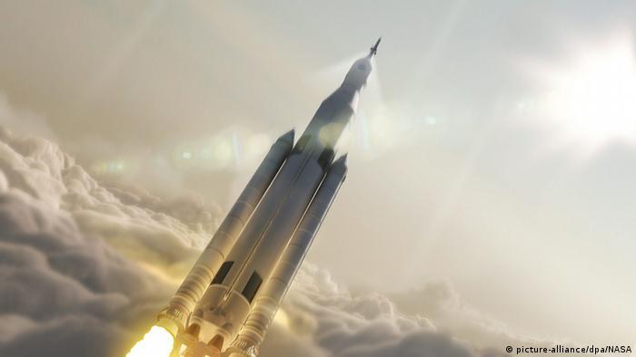 Raumfahrt Nasa will neue Schwerlast-Trägerrakete ab 2018 Space Launch System