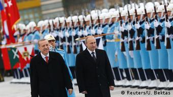 Ρωσία και Τουρκία έρχονται πιο κοντά σε θέματα ενέργειας.