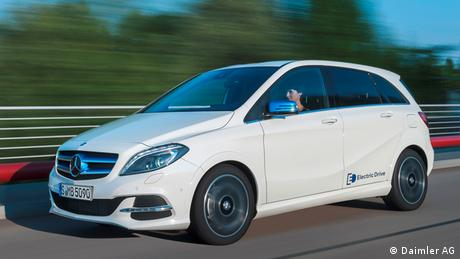 Mercedes B-Klasse Electric-Drive 2015