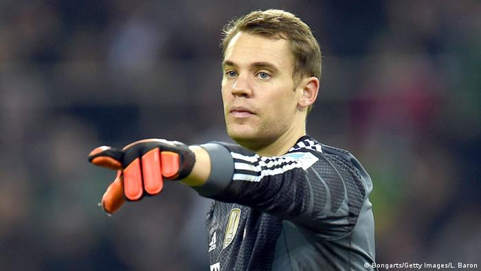 Fußball Torwart Manuel Neuer (Bongarts/Getty Images/L. Baron)