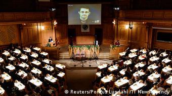 Verleihung des Alternativen Nobelpreises an Edward Snowden