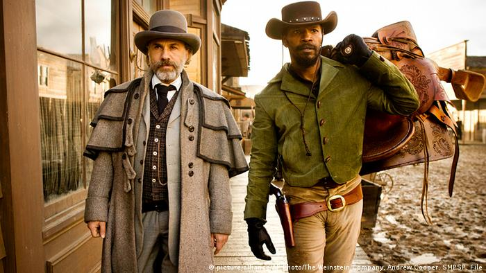 Film still from Django Unchained with Christoph Waltz (Copyright: picture-alliance/AP Photo/The Weinstein Company, Andrew Cooper, SMPSP, File)