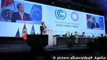 Peru Klimakonferenz in Lima COP 20